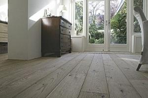 Ondervloer Eiken Vloer : Houten vloer op houten ondervloer: parket laminaat.nu parket houten